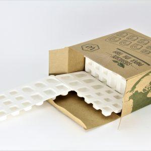 bandeja caps biodegradables